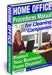 Home Office Procedures Manual for Cleaning Companies
